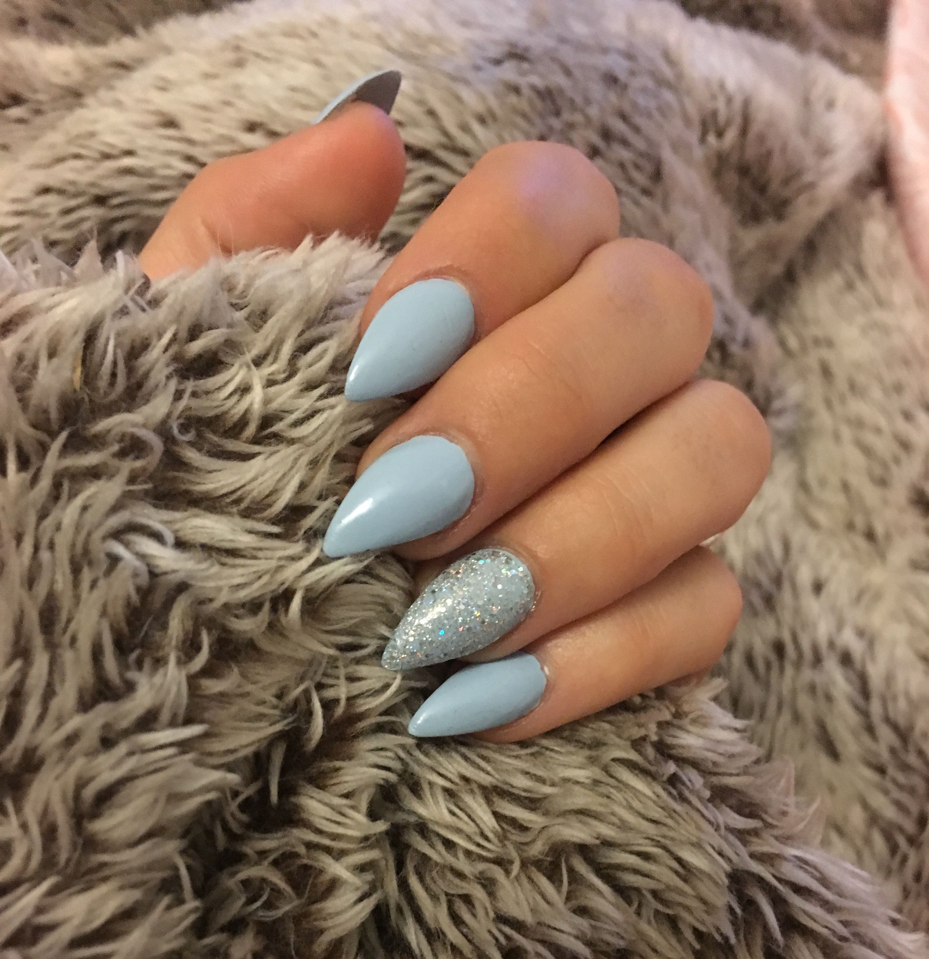 Cinderella Stiletto Acrylic Nails Quinceanera Nails Cinderella Nails Disney Acrylic Nails