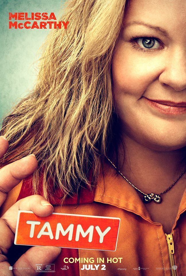 #MelissaMcCarthy's 'Tammy' Poster Revealed!  #NCfilm  WATCH THE TRAILER: http://nchollywood.com/2014/02/13/melissa-mccarthy-goes-gangster-in-tammy-teaser-trailer/