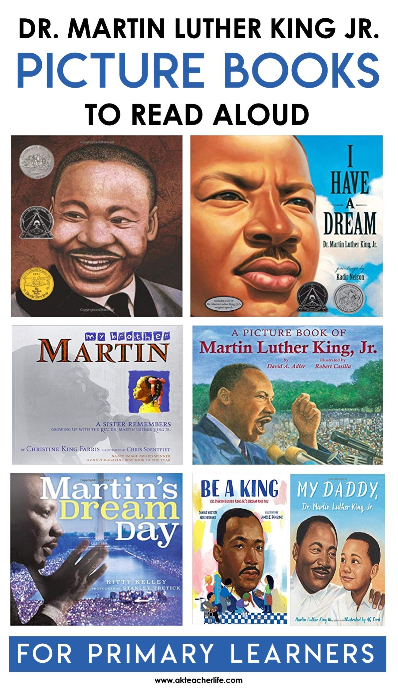 Eight Picture Books About Dr Martin Luther King Jr