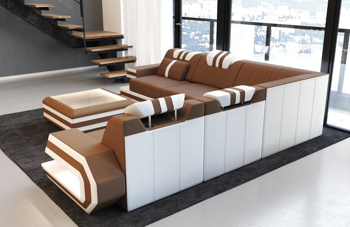 Modern Sectional Fabric Sofa San