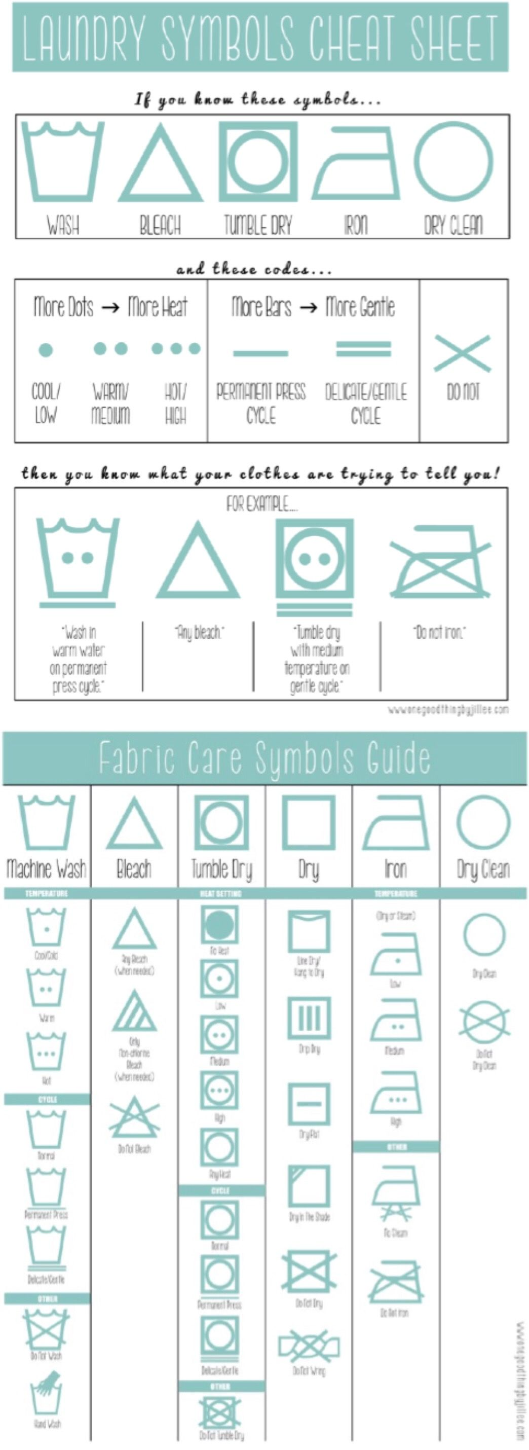 Laundry symbols made simple laundry symbols and household laundry symbols made simple one good thing by jillee biocorpaavc Choice Image