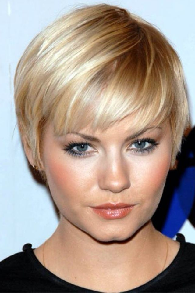 Short Easy Haircuts For Women for round face