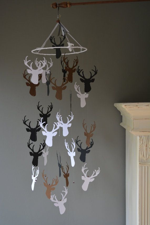 White Deer Head Bedroom