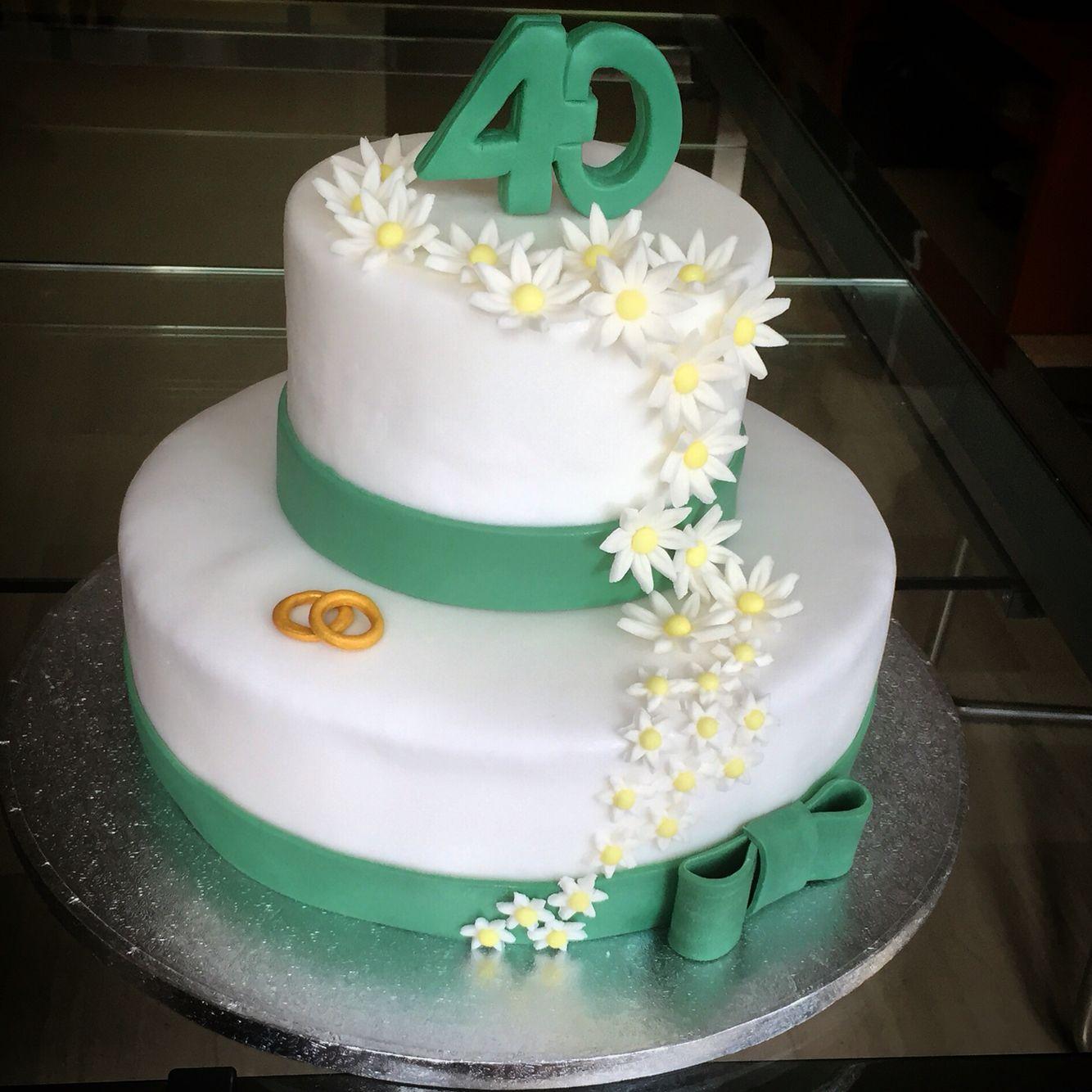 Torta Per I 40 Anni Di Matrimonio Instafood Ilas Ilassweetness Pastadizucchero Cakedesign A Anniversario Di Matrimonio Anniversario Matrimonio