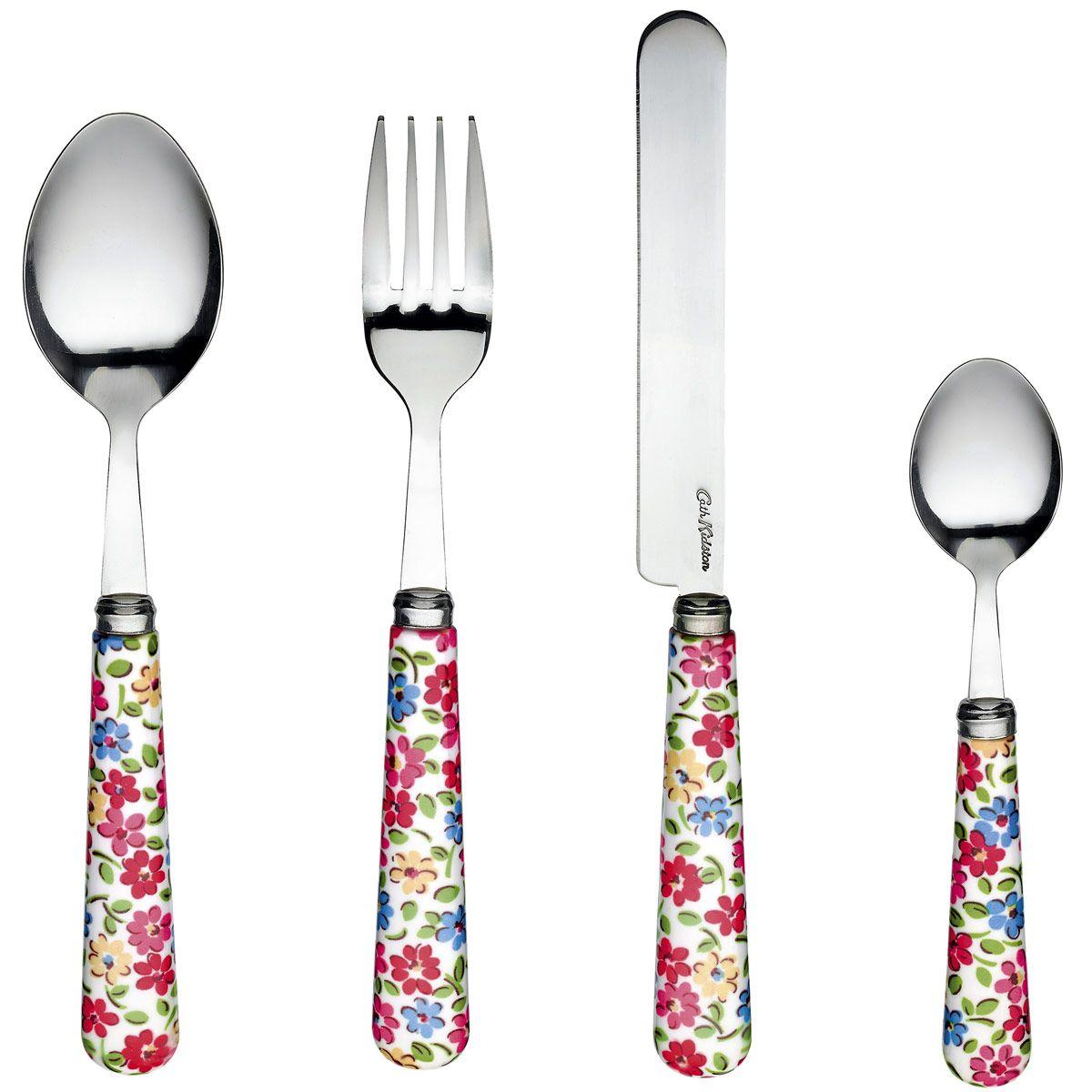 Garden Ditsy 16 Piece Cutlery Set | Cutlery | CathKidston  sc 1 st  Pinterest & Garden Ditsy 16 Piece Cutlery Set | Cutlery | CathKidston | Home \u003c3 ...