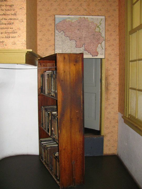 Anne Frank House Amsterdam The Movable Bookcase Which