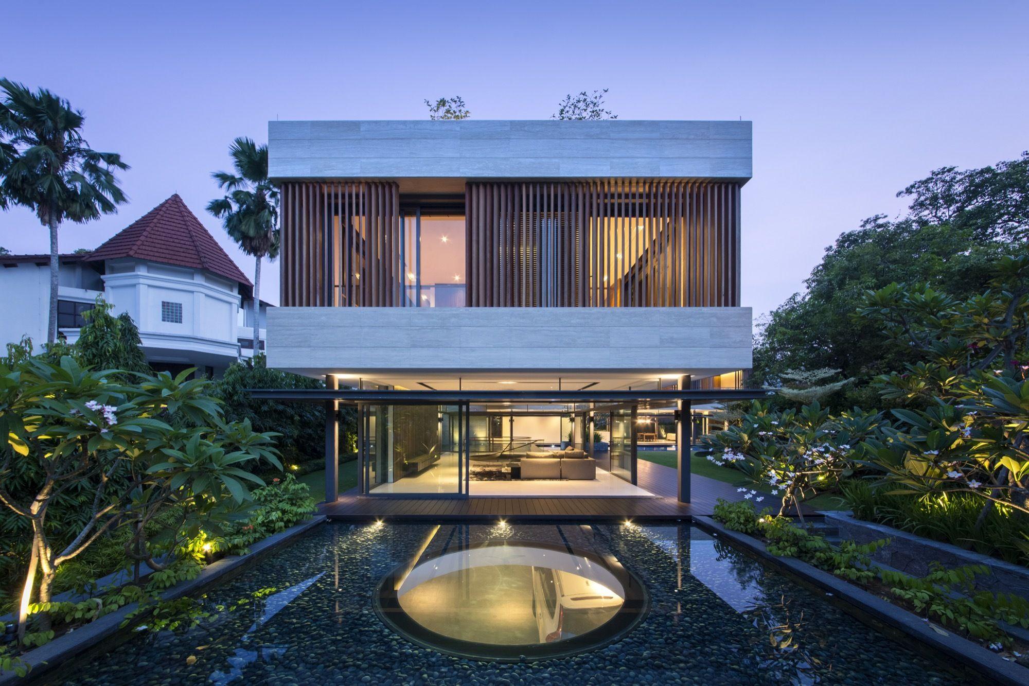 gallery of secret garden house / wallflower architecture + design