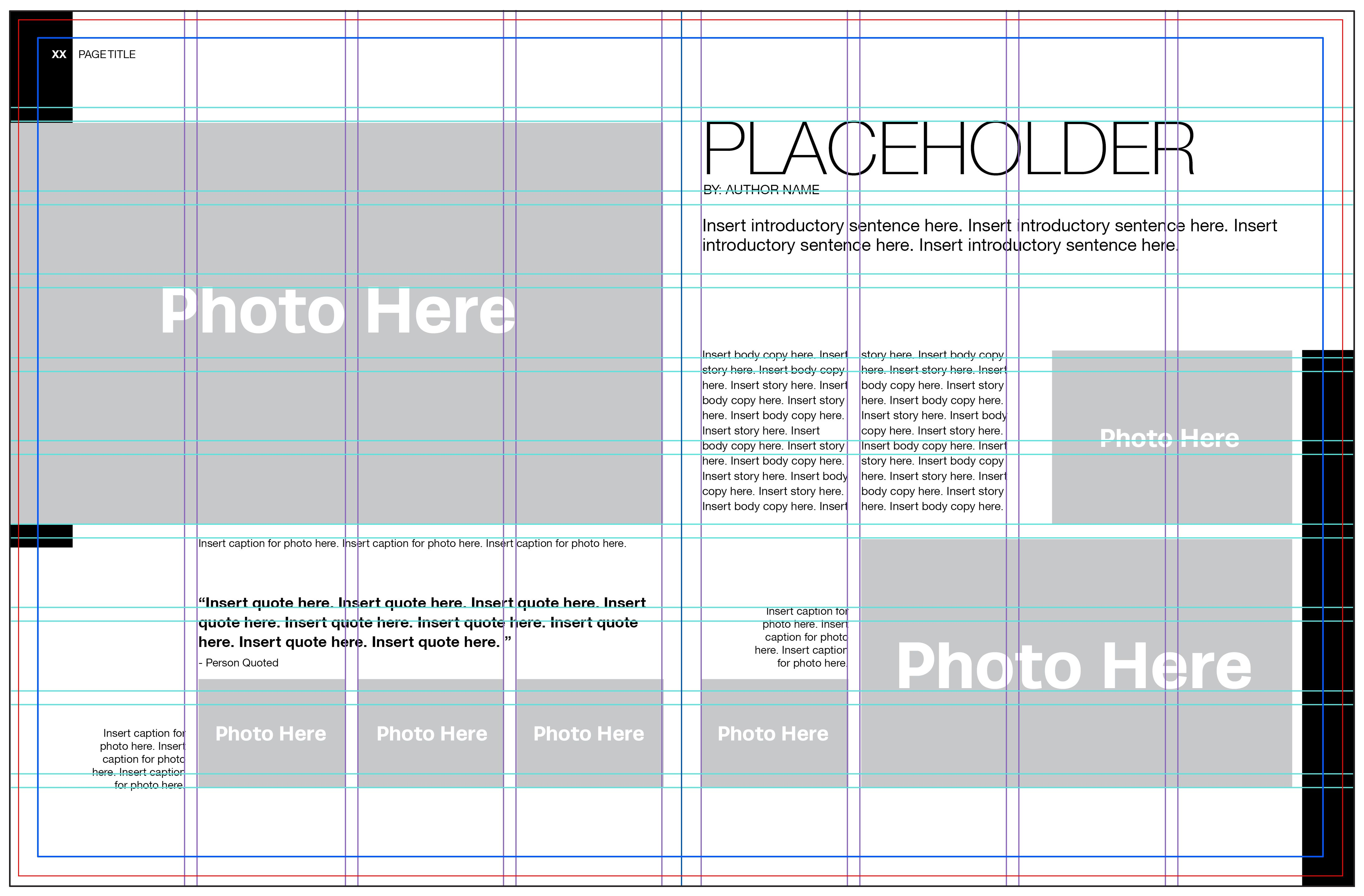 Five steps to laying out a yearbook page. | How To Create A Yearbook ...