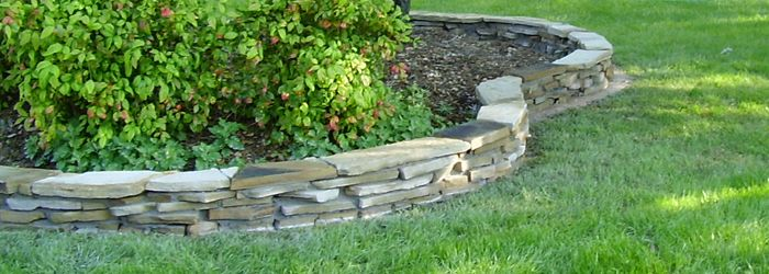 Elegant How To Install Garden Border Stones | All American Stone U0026 Turf
