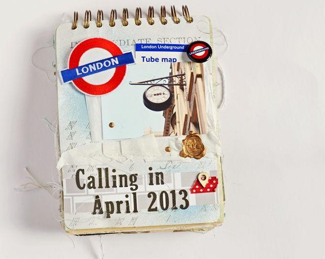 *Imagicallery*: {Scrapbooking} My London Scrapbook (Part 1)