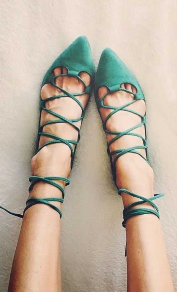 Lace ups.   @andwhatelse