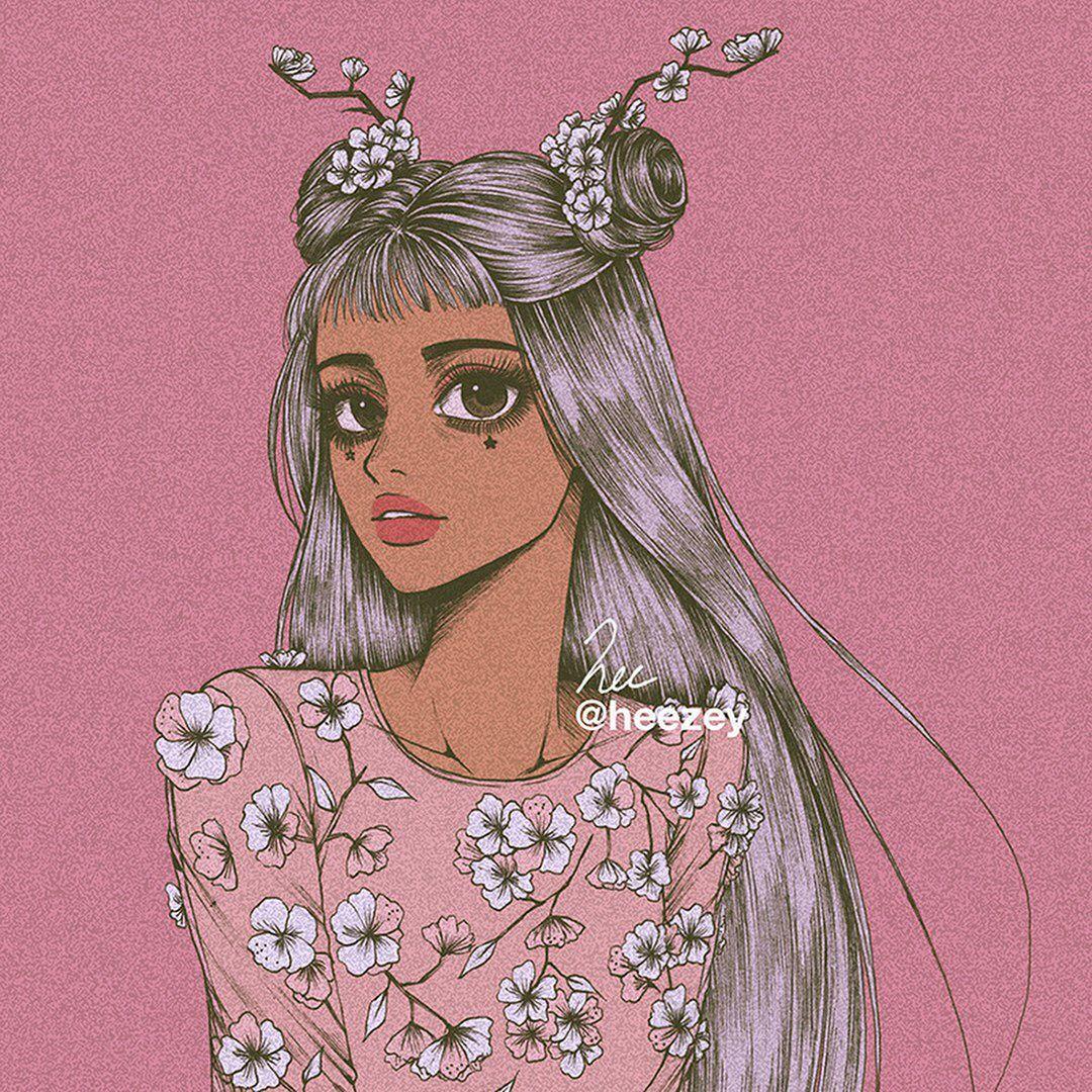 artist ig heezey Art girl, Cute art, Illustration art