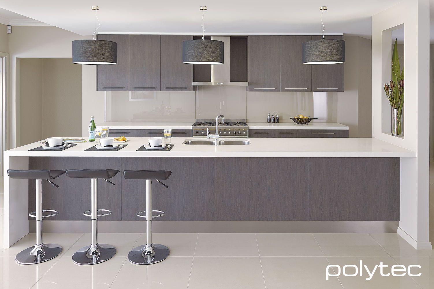 Polytec Kitchen Kuche Innenraum Laminat