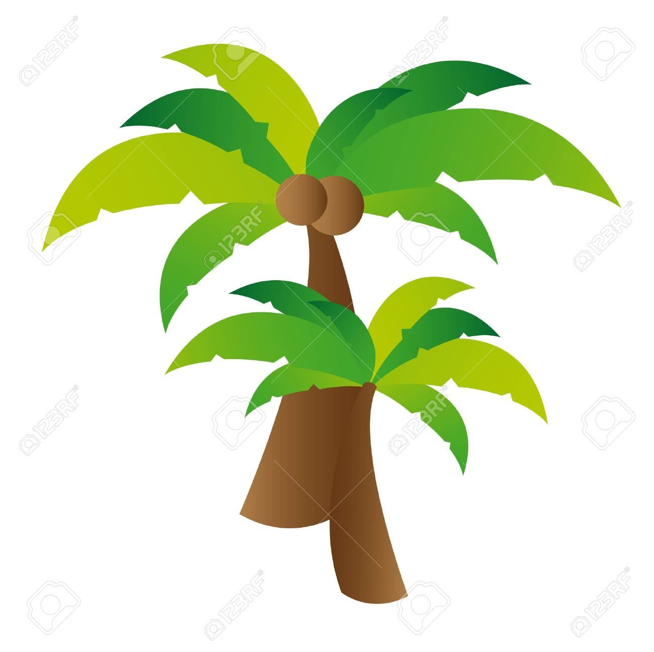 coconut tree illustration - Google 검색 | 바다 | Pinterest