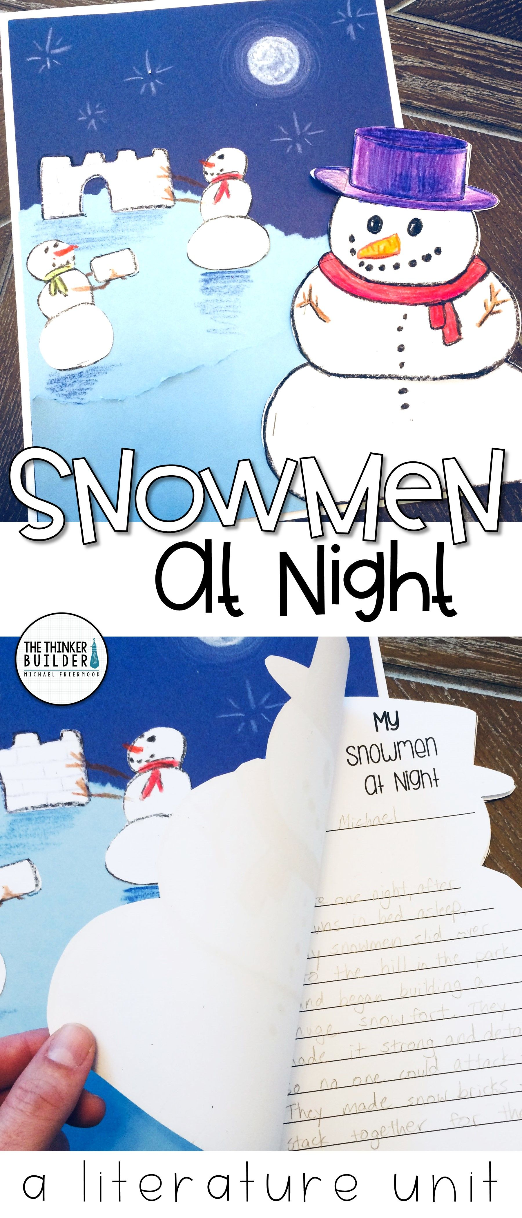 Snowmen At Night Literature Unit My Favorite Read Alouds