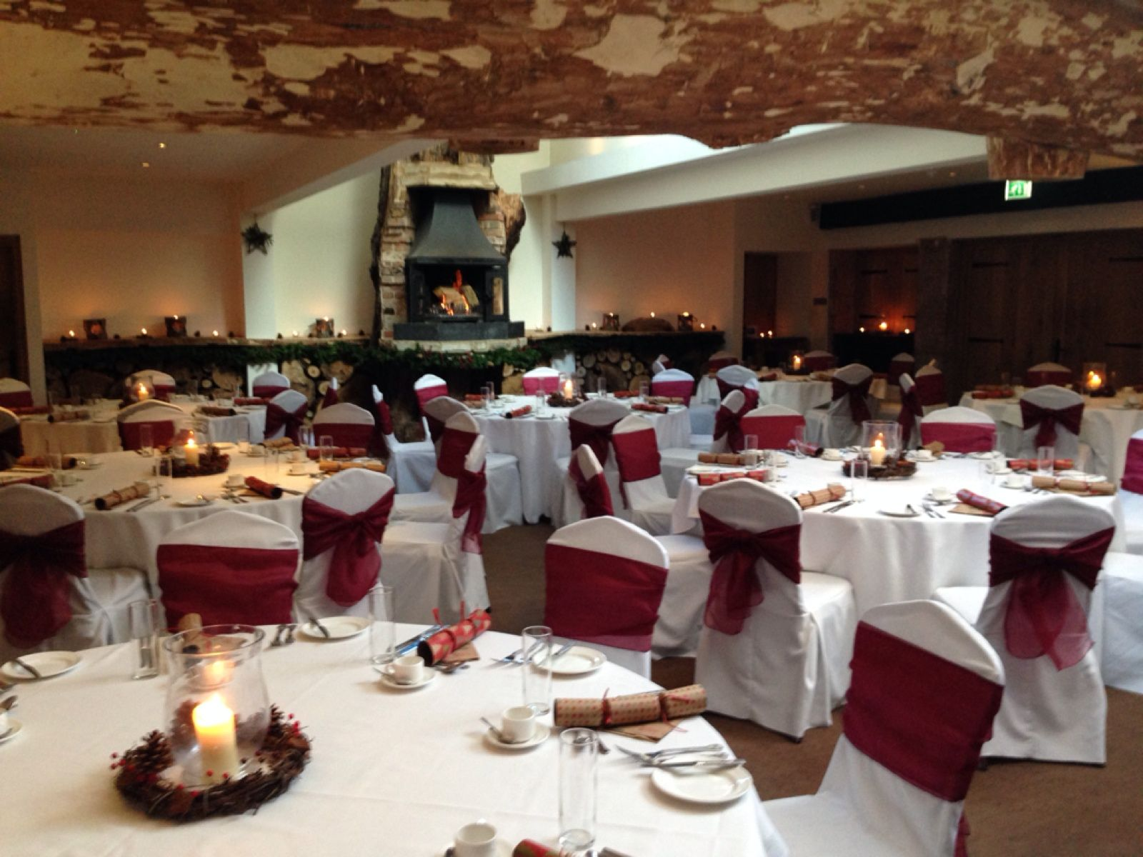 Our first Christmas Lunch in our new Chestnut Room
