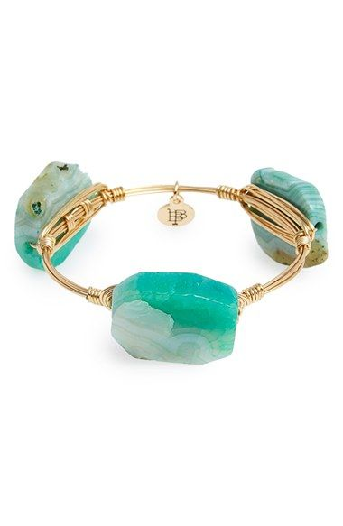 Bourbon and Boweties Dyed Agate Bracelet available at #Nordstrom