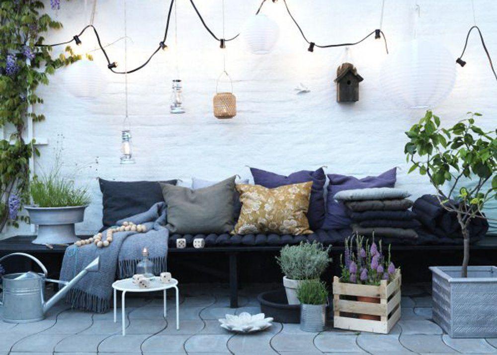Terrasse en longueur : nos idées d\'aménagement   Marie claire maison ...