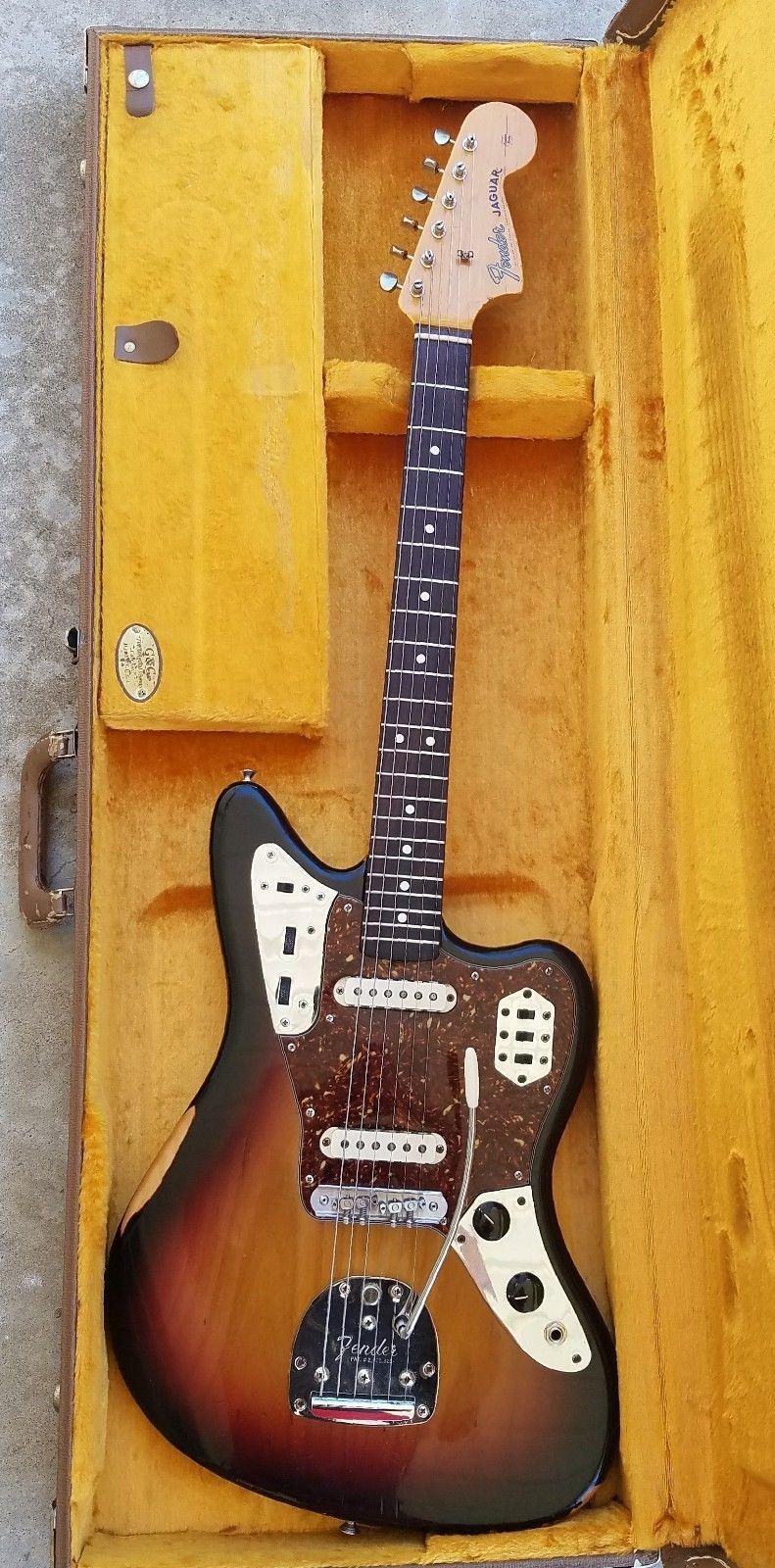Fender Jaguar American Vintage 62 With Mastery Bridge