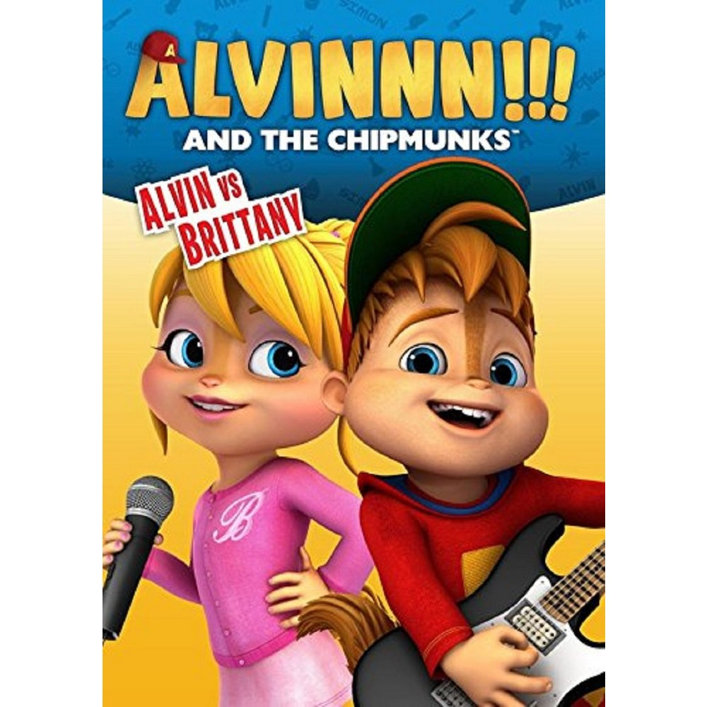 Alvinnn And The Chipmunks Brittany And Alvin alvin and the chipmunks: alvin vs. brittany dvd | alvin