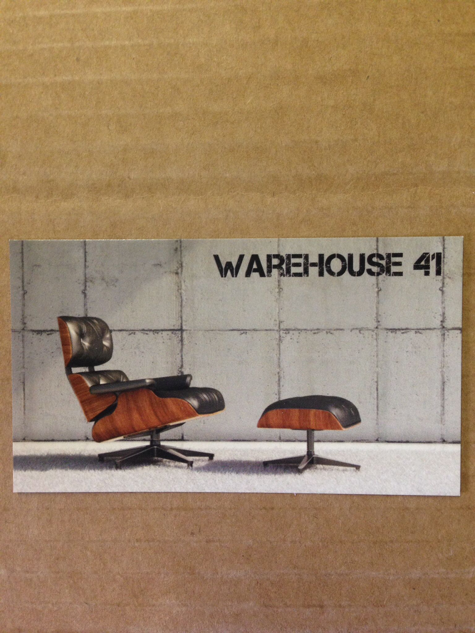 Our New Business Cards Have Arrived Available Warehouse 41 At