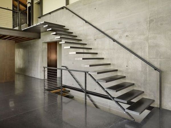 We provide architectural staircases commercial staircases for Pre built stairs interior