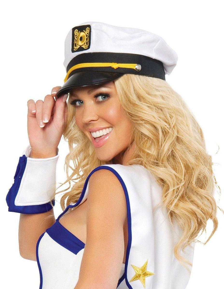 sailor captain hat - Sailors Halloween Costumes