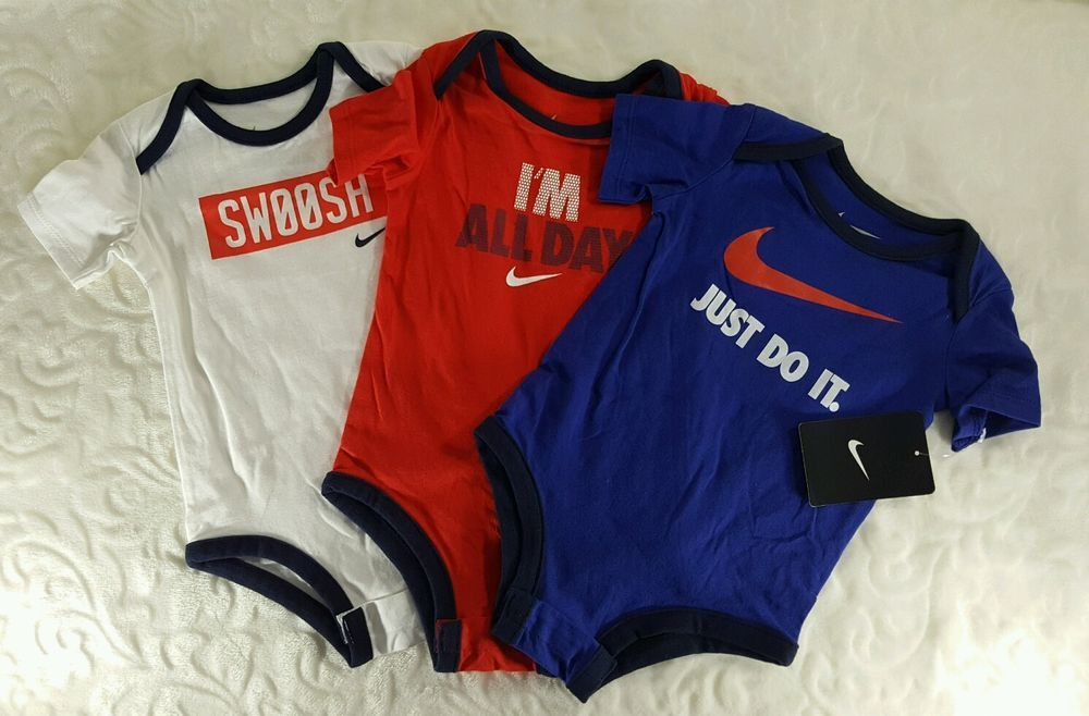 Baby Nike One Piece Lot Of W 6 9 Months New With Tags Clothing