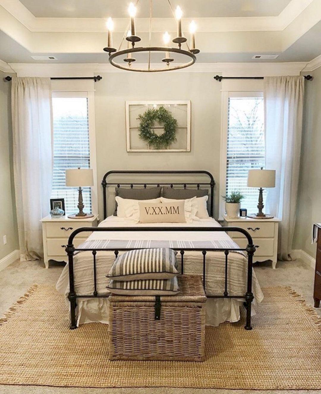 Phenomenal 45 Stunning Magnolia Homes Bedroom Design Ideas For Comfortable Sleep
