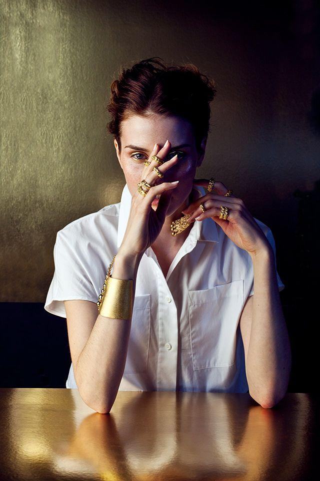 From Colombian jewelry designer Paula Mendoza Portraits