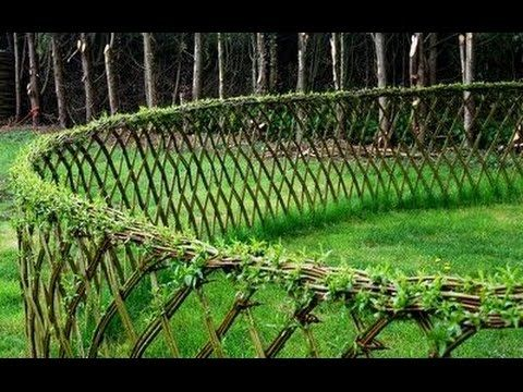 Zaun selber machen Zaun selber bauen Zaun ideen JARDIN of