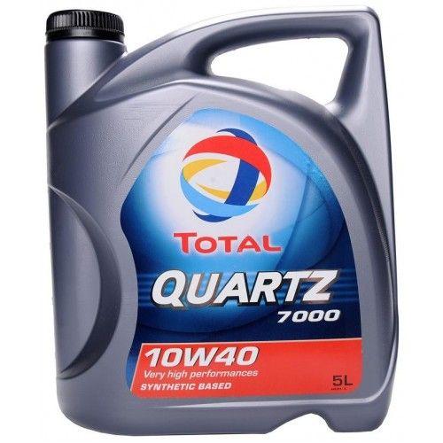 TOTAL QUARTZ 7000 10W40 5L е полусинтетично моторно масло с подобрена формула…