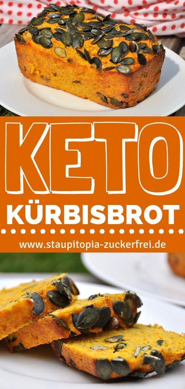 Perfekt im Herbst: Kürbisbrot ohne Mehl - Staupitopia Zuckerfrei - Dieses Rezept für ein Keto Kürbis...