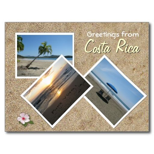Greetings from costa rica postcard pinterest costa rica greetings from costa rica postcard m4hsunfo