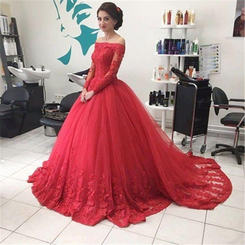 8ac7ecba2 Resultado de imagem para vestido vermelho princesa manga longa ...