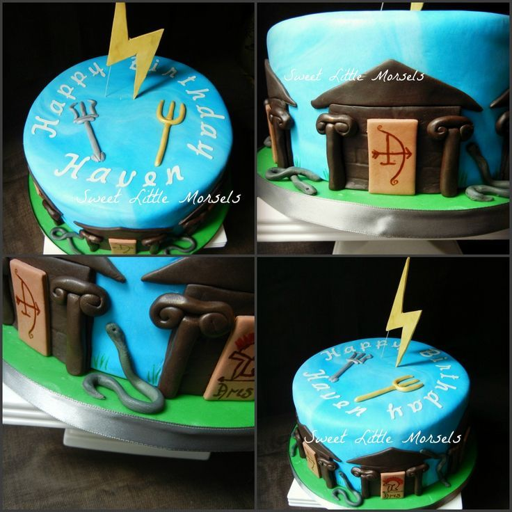 percy jackson cakes | Percy Jackson cake http://sweetlilmorsels.files.wordpress.com/2012/07 ...