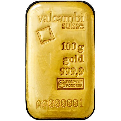 100 Gram Valcambi Cast Gold Bars From Jm Bullion Gold Bullion Bars Gold Bar Gold Investments