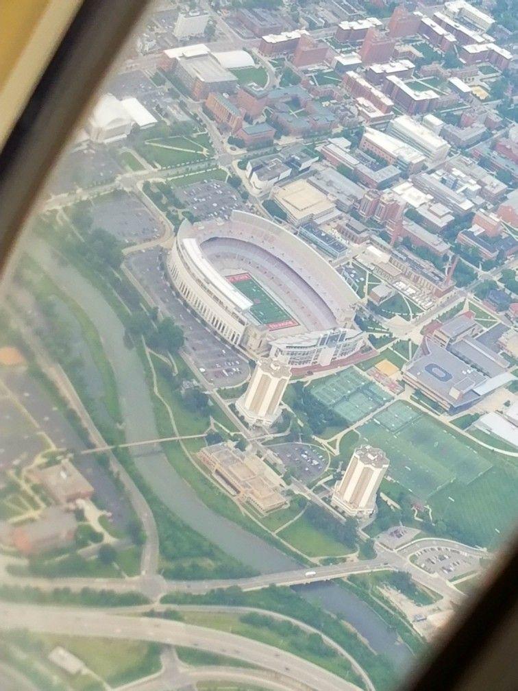Flying over ohio stadium in 2020 ohio stadium ohio