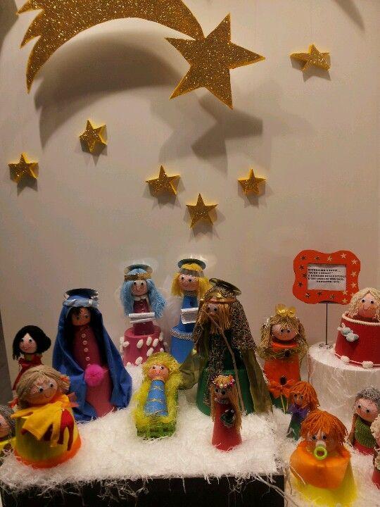Vetrina Benetton(realizzata dai bambini scuola infanzia)