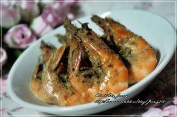 十分鐘上桌‧懶人版胡椒烤蝦
