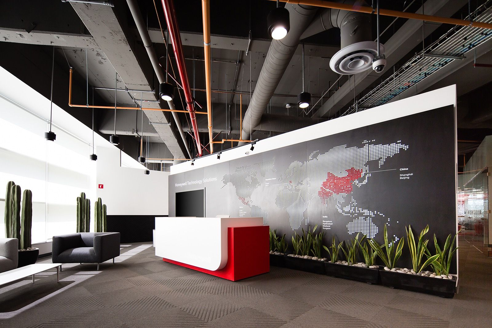 A Tour of Honeywell's Modern Mexico City Office | Office | Smart