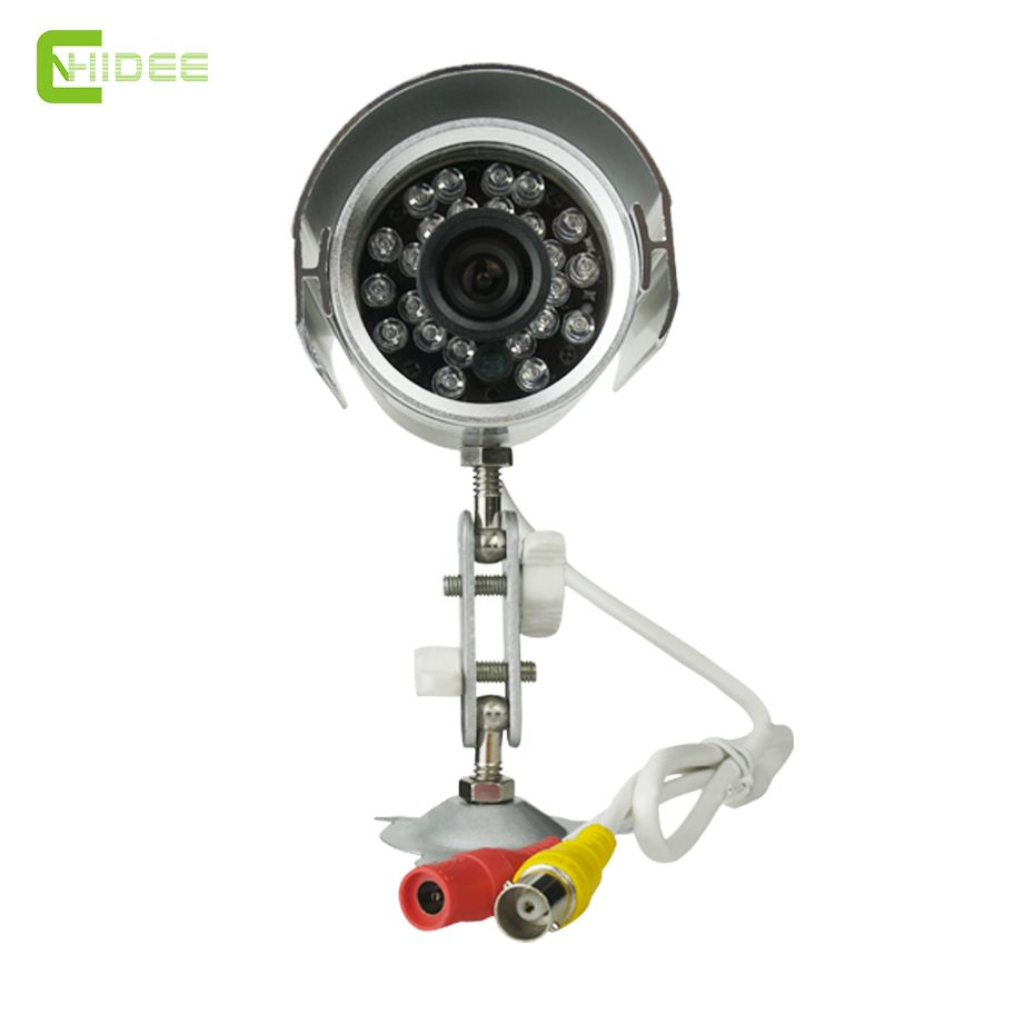 CNHIDEE CMOS 600TVL IR Bullet Home Security Camera System Night ...