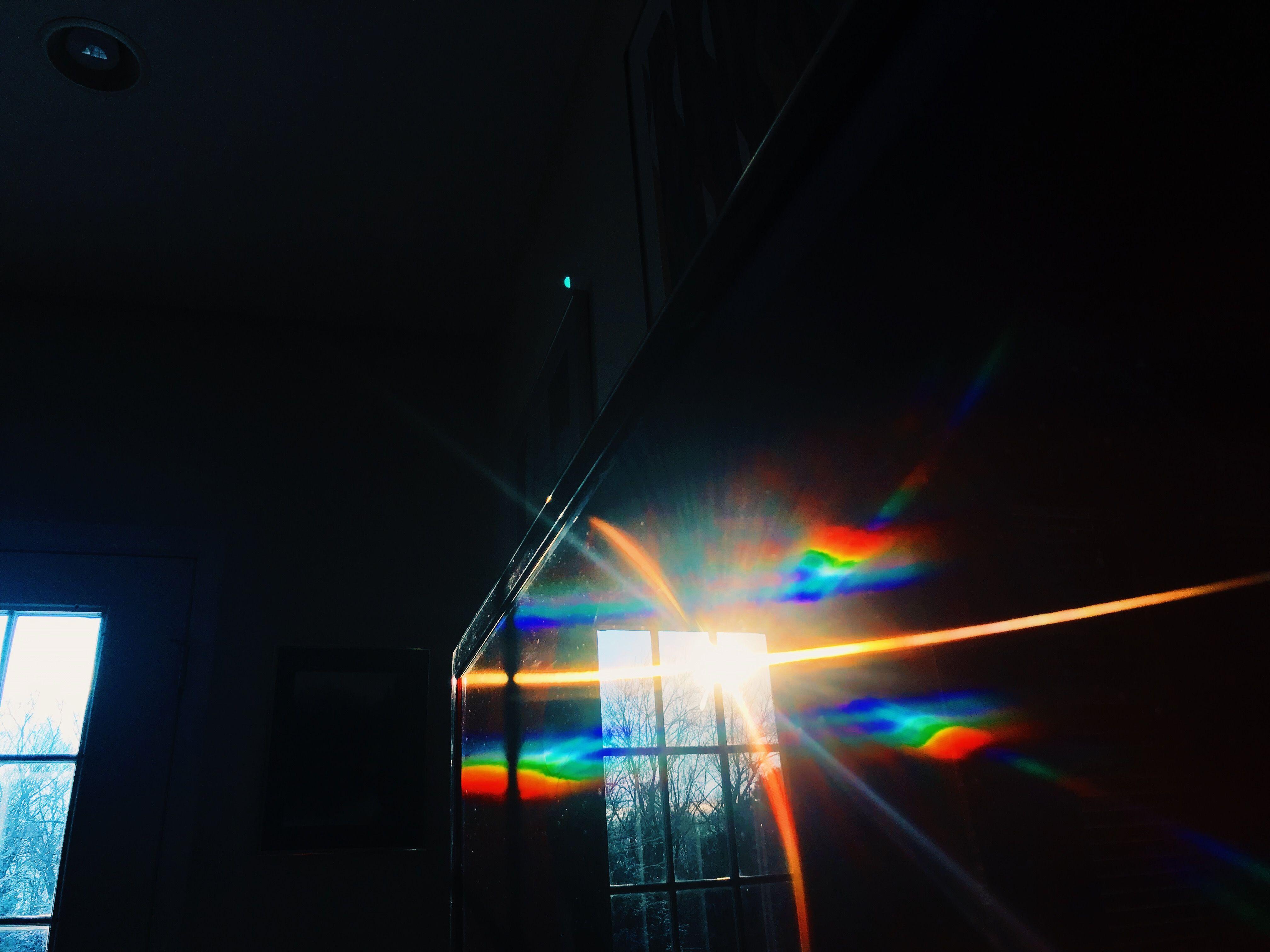 Pinterest Ayyeshayy With Images Rainbow Aesthetic Black