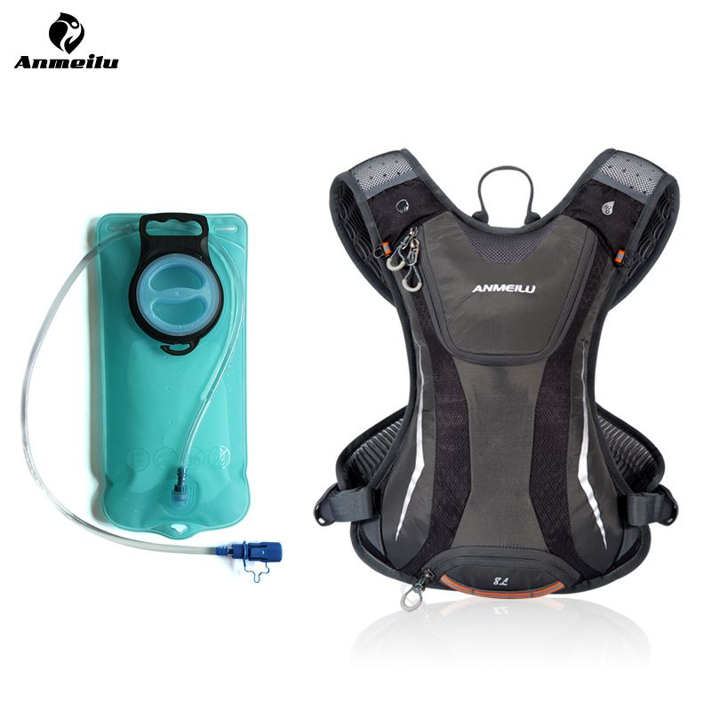 43e62febbd43 Anmeilu 5L Bicycle Bag 2L Hydration Water Bag Bladder Cycling Running Rucksack  Backpack Camelback Bag Run