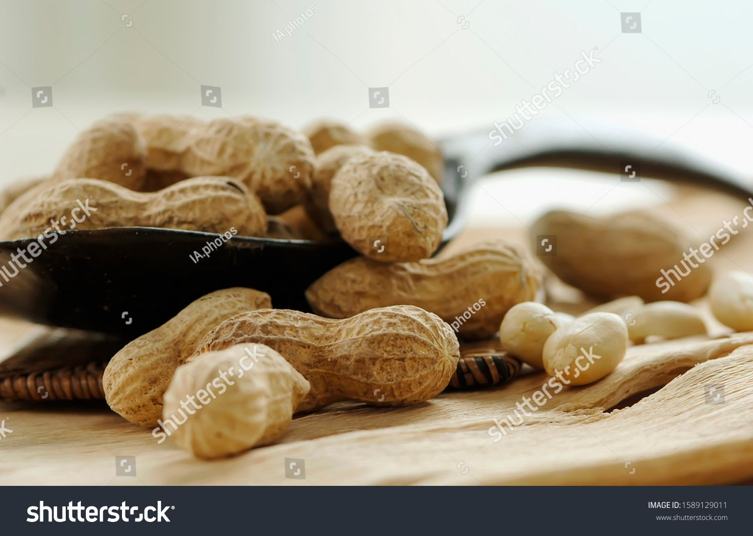 peanuts seeds on table with light background, peanuts seeds on light, Delicious food seeds, grains, Market photo, Food and Drink, health and medicare. #Sponsored , #affiliate, #background#Delicious#food#light