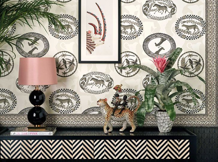 Eclectic wallpaper collection Ardmore by Cole & Son Обои