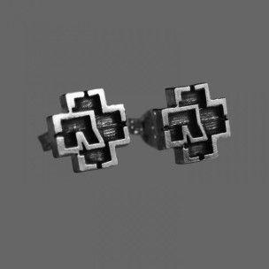 """Rammstein """"Logo"""" Earrings"""