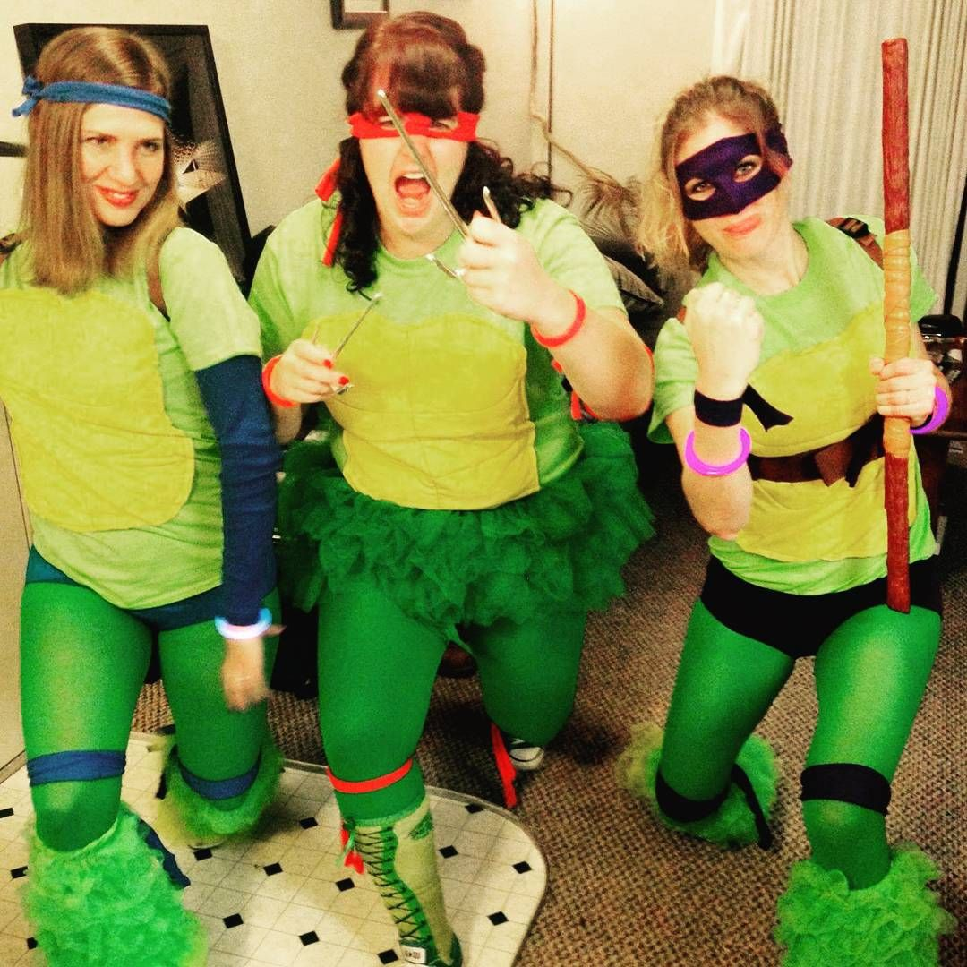 DiY Teenage Mutant Ninja Turtles Halloween group costume.  sc 1 st  Pinterest & DiY Teenage Mutant Ninja Turtles Halloween group costume ...