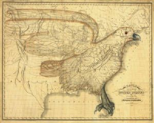 Antique Map Of The United States Obviously Before The US - Antique us map