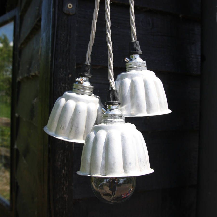 Vintage Mini Jelly Mould Lights - notonthehighstreet Folly and Gee